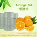 Pure sweet orange oil