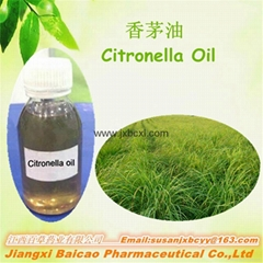 Manufacturer supply natural pure Citronella oil for repeling mosquito