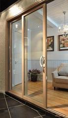 Australian 2047-2014 Standard Aluminum Sliding Doors with LOW-E glass For Commer