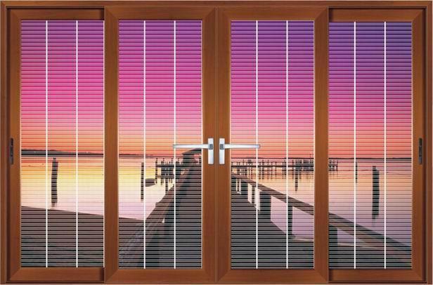 Aluminum Profile Sliding Windows With Mosquito Net 2