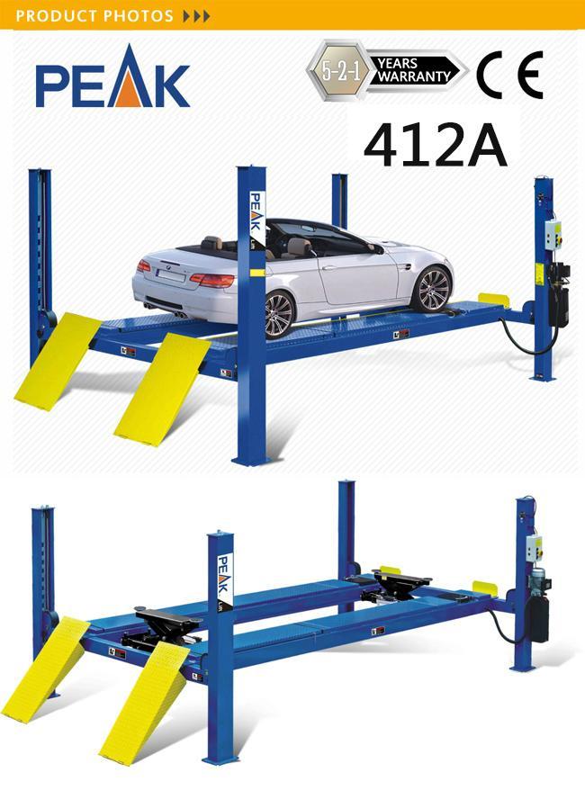 Heavy Duty Ce Certified 5.5t 4 Post Car Lift (412A) 2