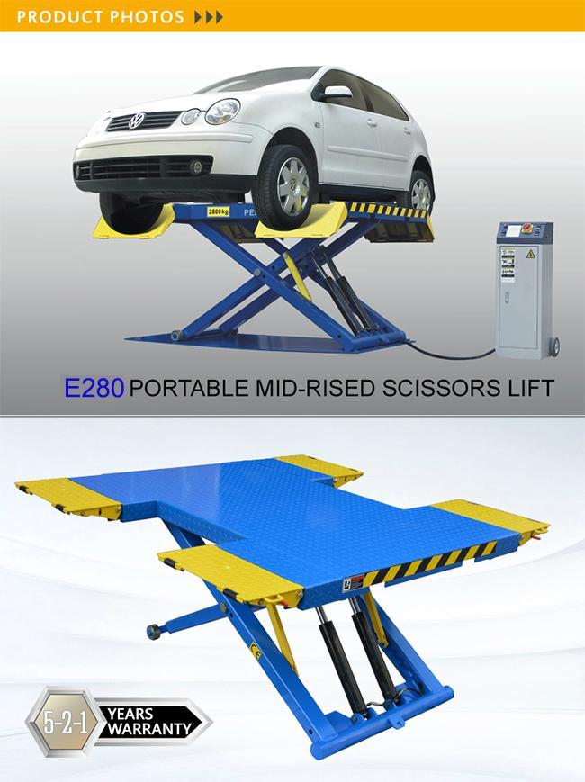Mid-Rise Portable Scissors Lift (EM06) 2