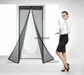 Magic mesh screen doors closing