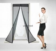 Magic mesh screen doors closing automatically