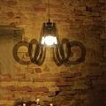 Methacrylate Suspension Lamp Ricciolo