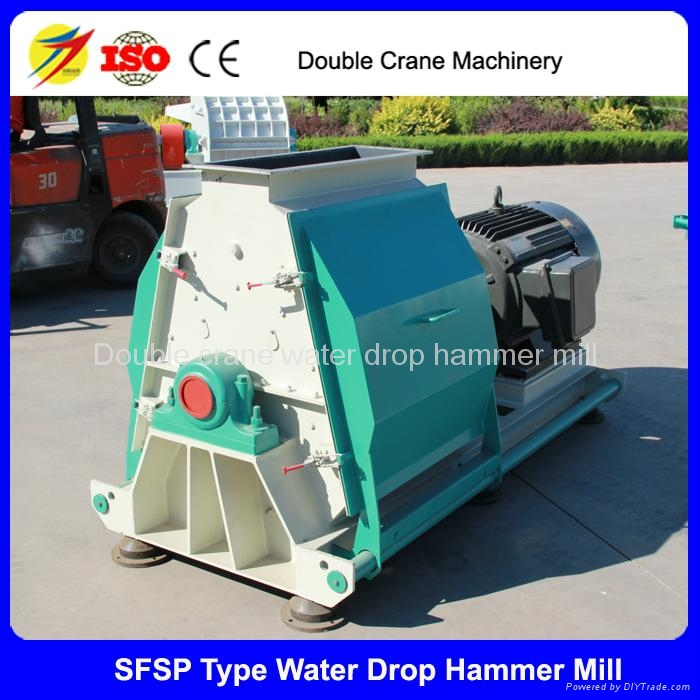 New design large capacity corn hammer mill for sale india 3-12t/h 1
