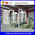 New design large capacity corn hammer mill for sale india 3-12t/h 5