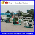 Double crane 2-8t/h chicken feed pellet mill for poultry farm best quality  5