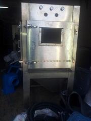 自動滾筒濕噴砂機