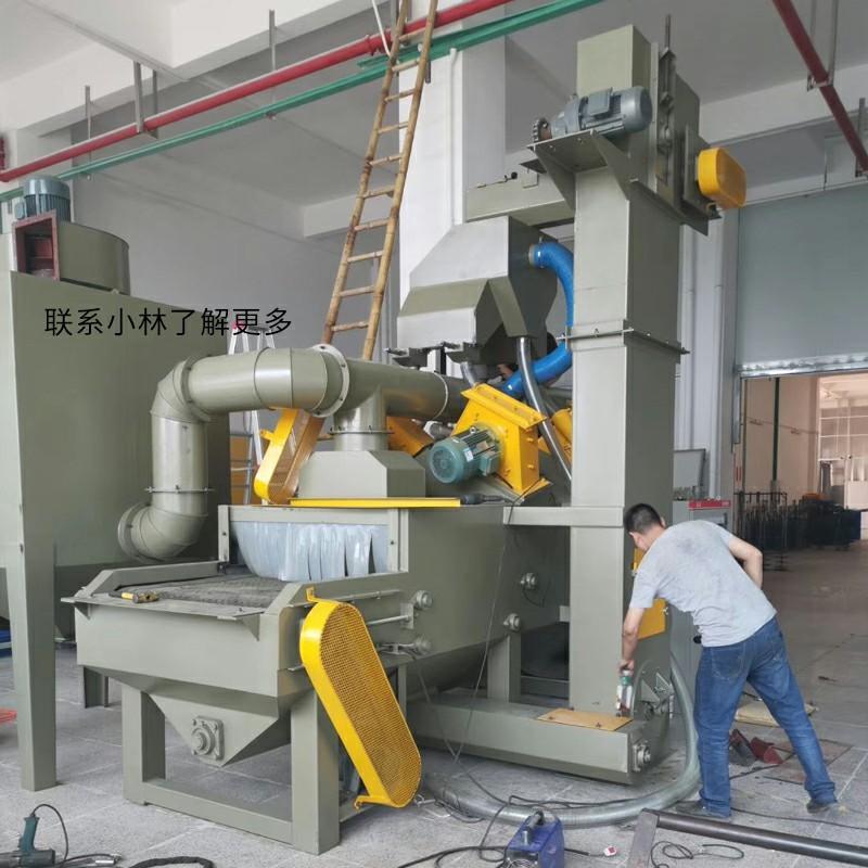 顺德抛丸机厂家-铝型材处理通过式抛丸机 5