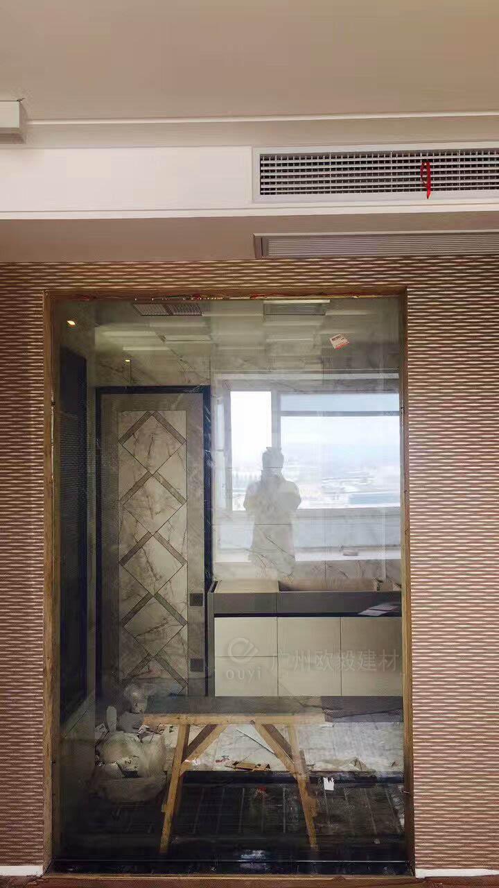 廣州毆毅建材OY家裝裝飾霧化玻璃 1