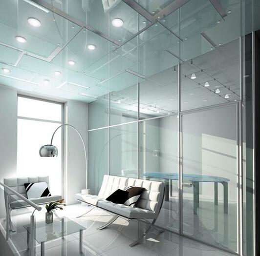 廣州毆毅建材OY家裝裝飾霧化玻璃 3