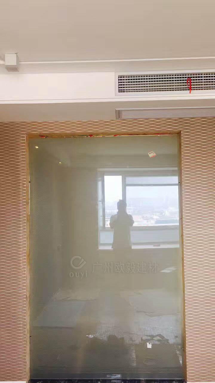 廣州毆毅建材OY家裝裝飾霧化玻璃 4