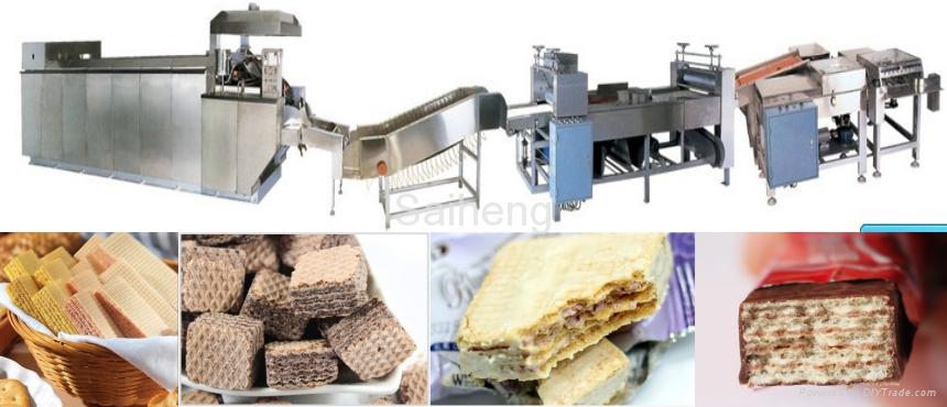 商用-27(燃氣加熱)標準型烘烤威化餅生產線 2
