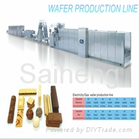 SH-27 fully automatic wafer biscuit production line(electric type)