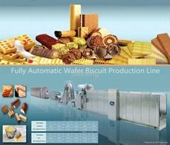 赛恒45模全自动威化饼干生产线