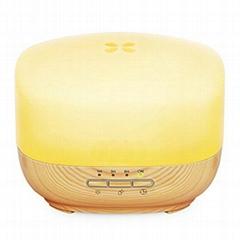 WF502    Wafue 500ml Wood Grain Ultrasonic Essential Oil Diffuser