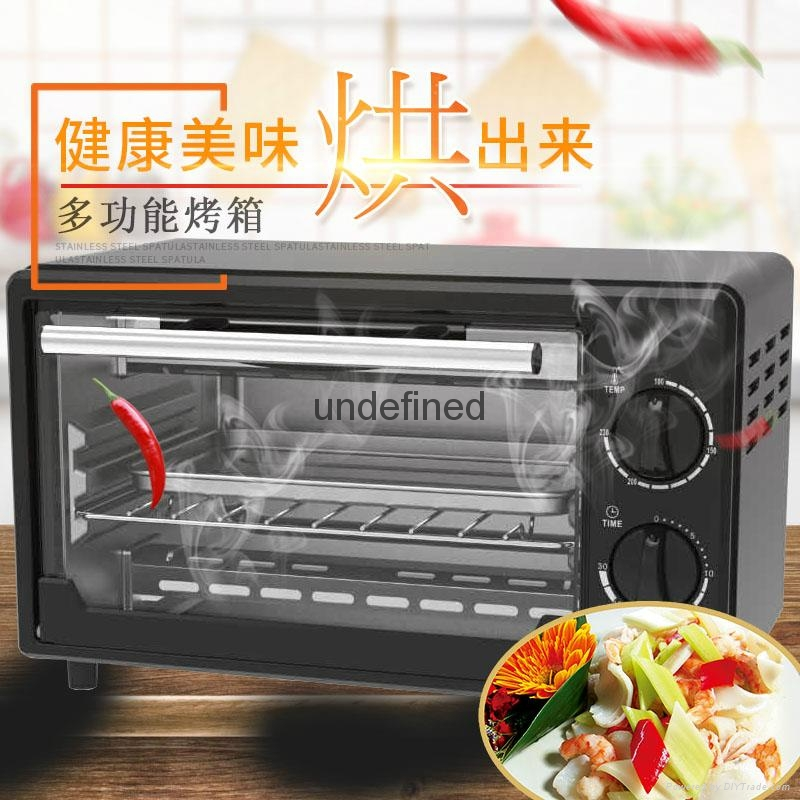 Home 16L electric oven baking oven chicken wings grilled fish stove 4