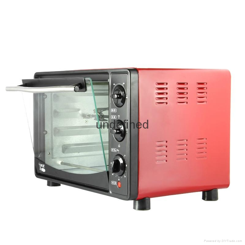 Home 20L electric oven baking oven chicken wings grilled fish stove 4