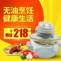 家用空氣光波爐燒烤微波爐空氣爐空氣炸鍋