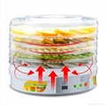 Transparent food dryer machine household snack machine dry fruit machine 4