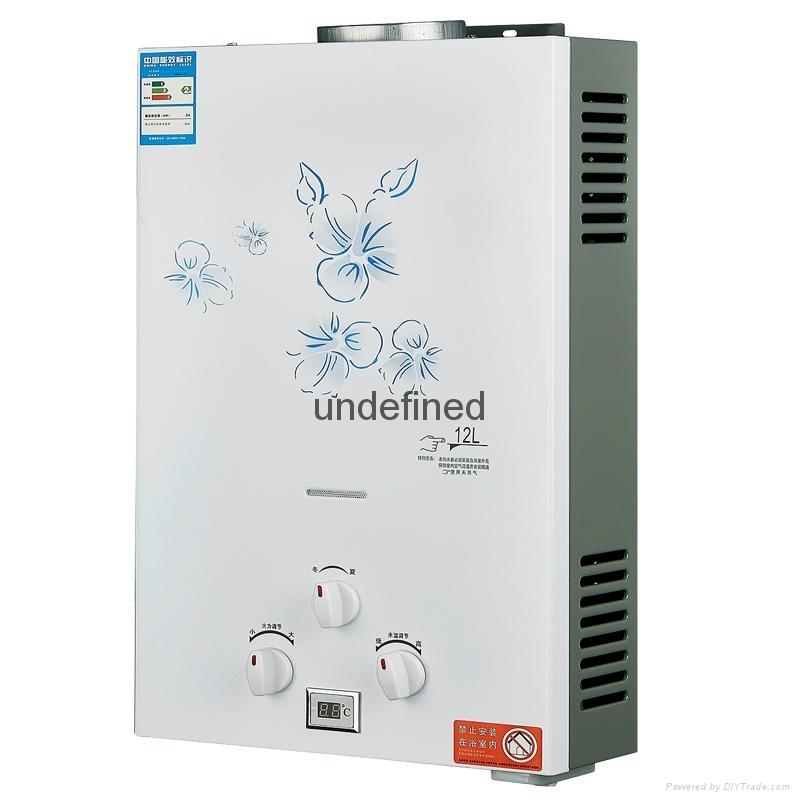 前排電熱水器天然氣液化氣電熱水器恆溫定時 1
