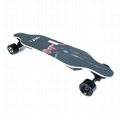 36V dual motor portable electric skateboard with LG battery