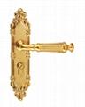 European Style Security Door Lock Handle 4