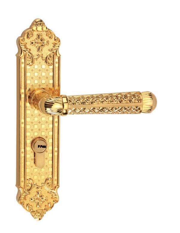 European Style Security Door Lock Handle 5