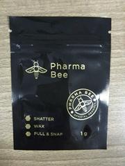 Custom design high quality  standing zipper plastic tobacco pouches