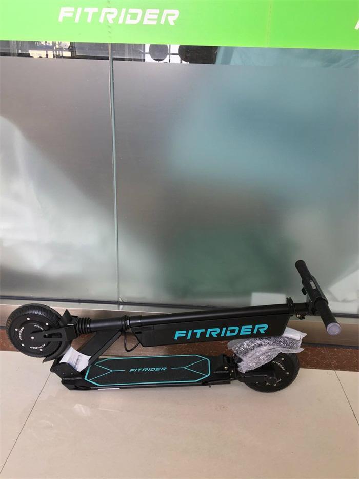 Fitrider代駕電動滑板車兩輪折疊代步自行車鋰電8寸迷你電動車 2