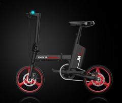 愛維樂M1電動折疊自行車純電動加助力騎行