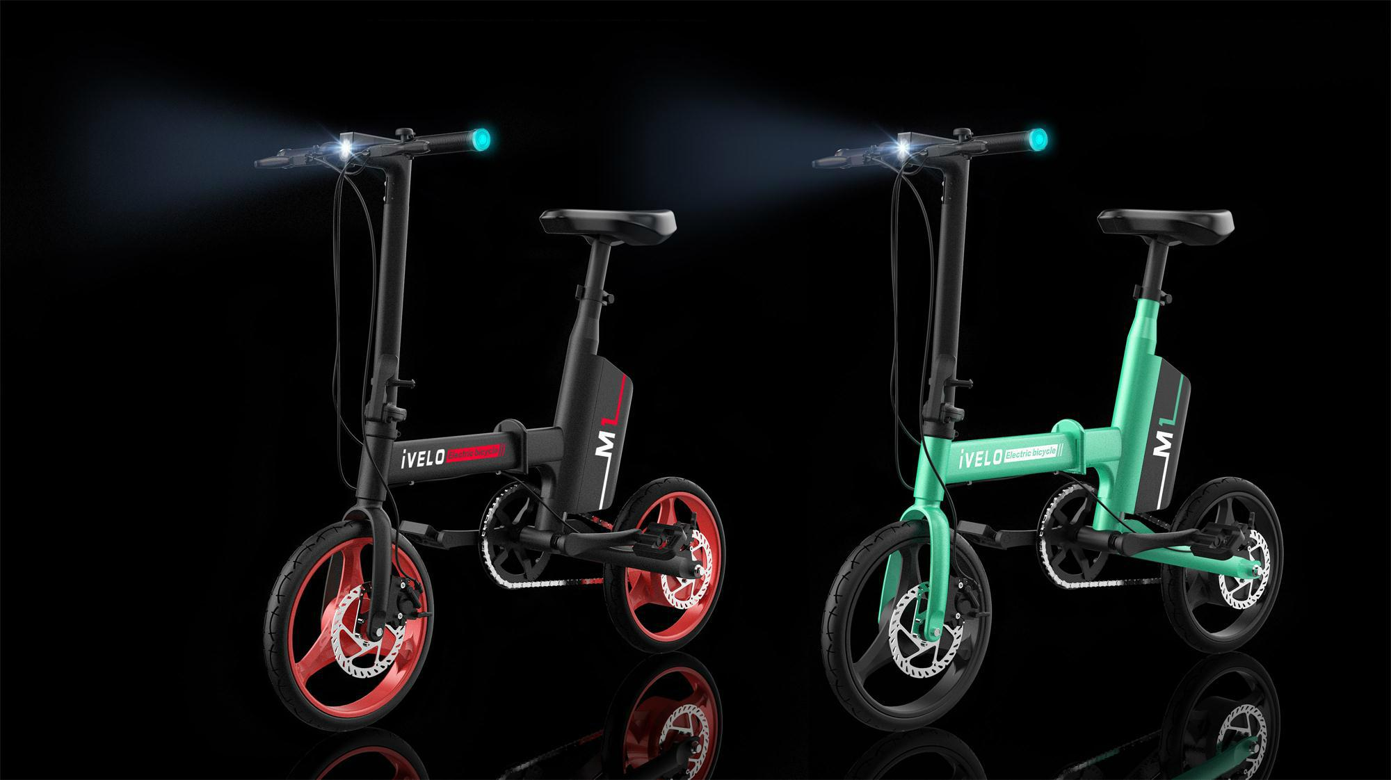 Ivelo Electric Folding Bike Small Electric Car With pedal 1