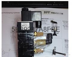 台湾中日流体HINAKA打刀缸五口二位电磁阀HNS523S3B-DC24V