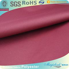 170/190/210t polyester taffeta fabric with pu coating man bag