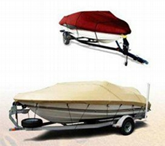 waterproof solution dyed boat cover canopy fabric  sumbrella