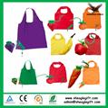 2017 OEM Fashion Cheap Recycled Nylon Polyester eco foldable shopping bag 2