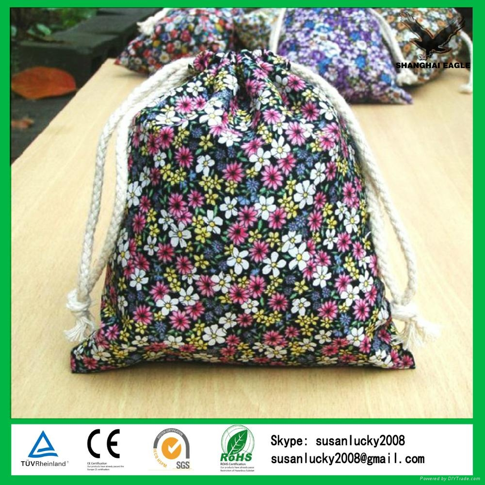 China Shanghai Custom Cotton Jewelry Packing Pouch 4