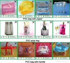Custom PVC Bag with Zipper