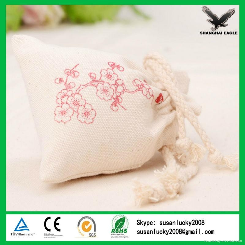 China Shanghai Wholesale Custom Printed Cotton Pouch 1