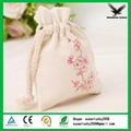 China Shanghai Wholesale Custom Printed Cotton Pouch 5