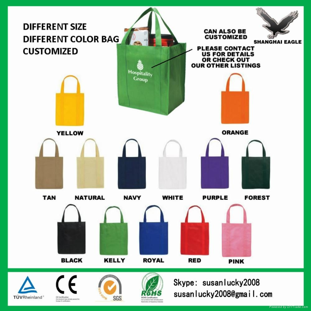 2017 New Design Strong Die Cut Non Woven Bags 1