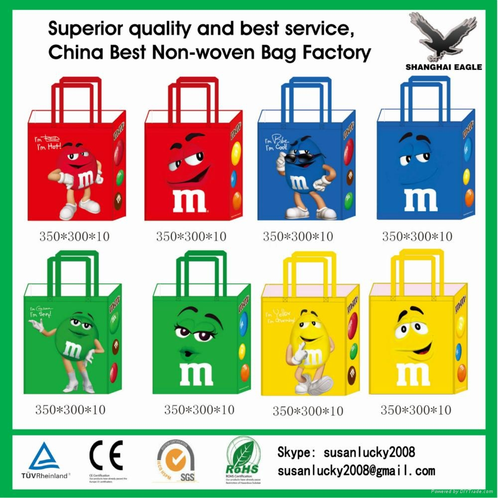 2017 New Design Strong Die Cut Non Woven Bags 3