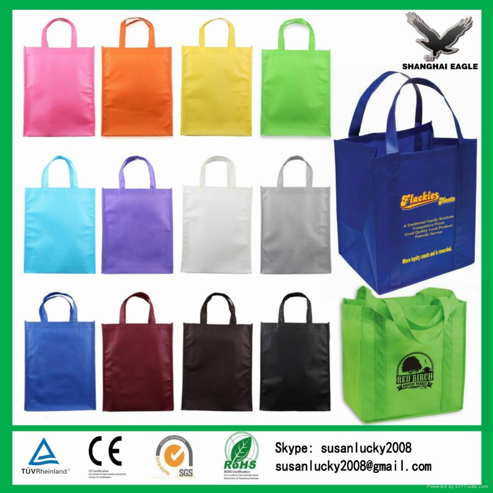 2017 New Design Strong Die Cut Non Woven Bags 5