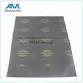 custom printed gold logo gift wholesale