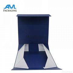 Luxury Rigid Fashion Packaging Paper Storage Box Foldable