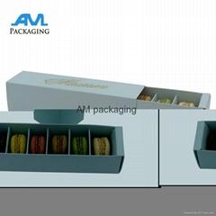 High Quality Drawer Shape Custom Paper Packing Macaron Box Sweet Box