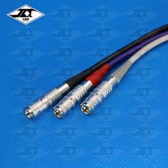 圆形连接器焊线加工