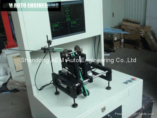 Turbocharger Dynamic Balancing Machine 3