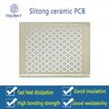 Alumina ceramic circuit board.